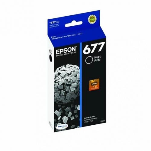 Cartucho Epson 677 Negro, 3400 Páginas