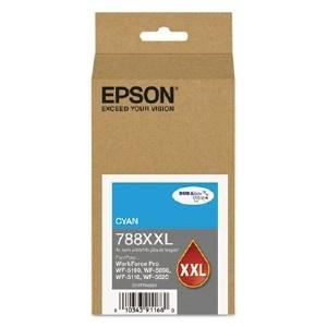 Cartucho Epson 788XXL Cyan, 4000 Páginas