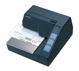 Epson TM-U295P, Impresora de Cheques, Alámbrico, Paralela, Negro - Sin Cables ni Fuente de Poder