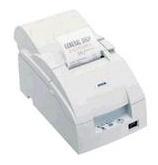 Epson TM-U220A, Impresora de Tickets, Matriz de Puntos, Serial, Blanco - incluye Fuente de Poder, sin Cables