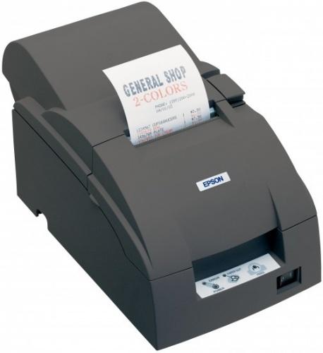 Epson TM-U220A, Impresora de Tickets, Matriz de Puntos, USB, Negro - incluye Fuente de Poder, sin Cables