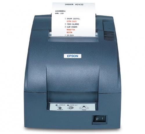 Epson TM-U220B, Impresora de Tickets, Matriz de Puntos, Serial, Negro - incluye Fuente de Poder, sin Cables