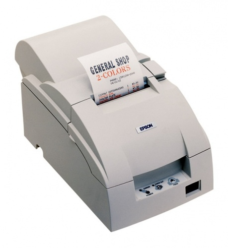 Epson TM-U220B, Impresora de Tickets, Matriz de Puntos, USB, Blanco
