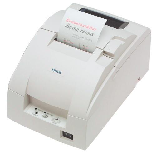 Epson TM-U220D, Impresora de Tickets, Matriz de Puntos, Alámbrico, Ethernet, Negro - incluye Fuente de Poder, sin Cables