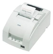 Epson TM-U220PB, Impresora de Tickets, Matriz de Puntos, Paralelo, Blanco - incluye Fuente de Poder, sin Cables