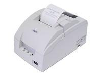 Epson TM-U220PD, Impresora de Tickets, Matriz de Puntos, Alámbrico, Paralelo, Blanco - incluye Fuente de Poder, sin Cables