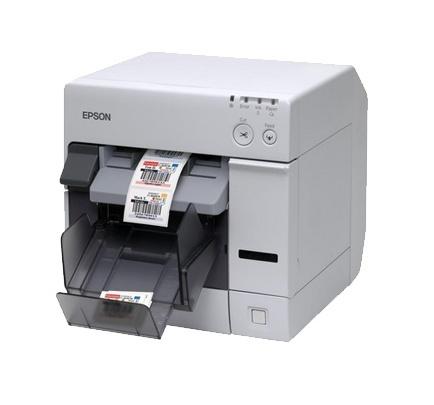 Epson TM-C3400USB, Impresora de Etiquetas y Tickets, Color, Inyección, USB, Blanco