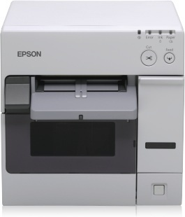 Epson TM-C3400, Impresora de Etiquetas y Tickets, Color, Inyección, Ethernet, Blanco