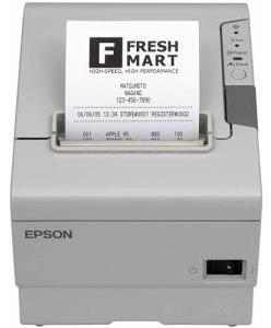 Epson TM-T88V, Impresora de Tickets, Térmica Directa, Paralelo + USB, Blanco - incluye Fuente de Poder, sin Cables ― ¡Compra y recibe $165 pesos de saldo para tu siguiente pedido!