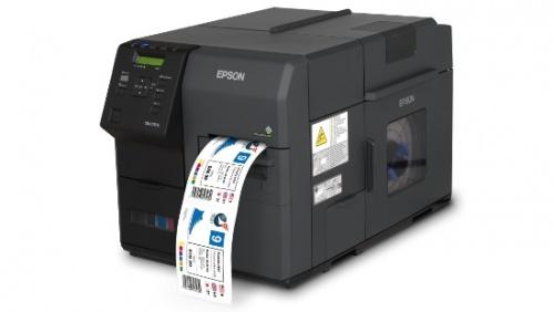 Epson Colorworks C7500, Impresora de Etiquetas, Inyección, 1200 x 600 DPI, USB 2.0, Negro