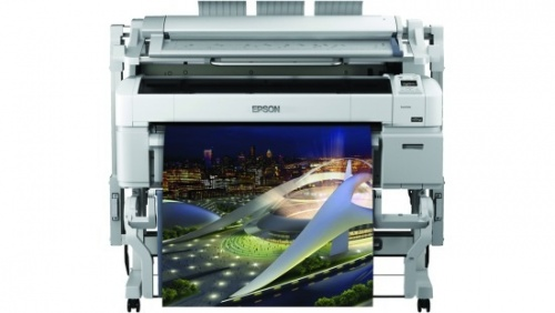 Plotter Epson SureColor T5270 Doble Rollo 36'', Color, Inyección, Print