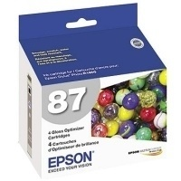 Cartucho Epson Optimizador de Brillo 87, 4 Piezas