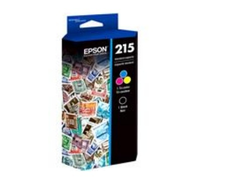 Cartucho Epson 215 Tricolor, 200ml
