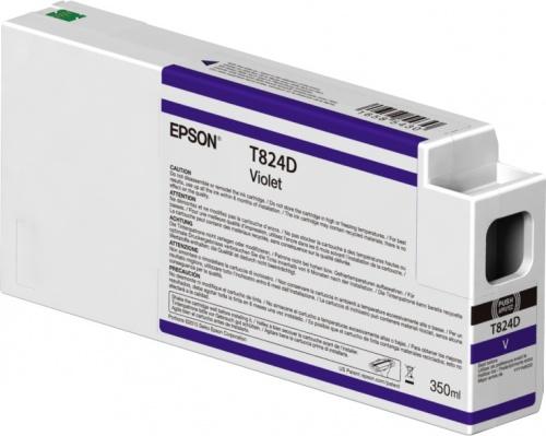 Cartucho Epson UltraChrome HDX T824D00 Violeta 350ml