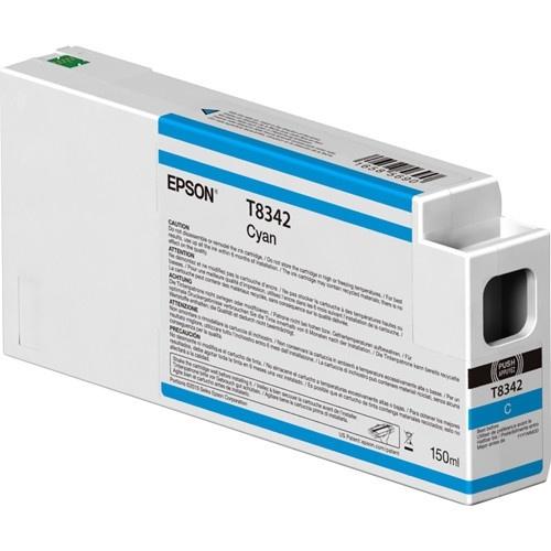 Cartucho Epson UltraChrome HDX T834200 Cyan 150ml