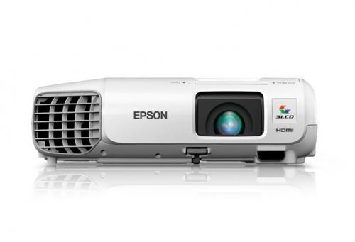 Proyector Epson PowerLite X27 3LCD, WXGA 1280 x 768, 2700 Lúmenes, con Bocinas, Blanco