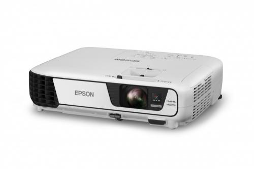 Proyector Epson PowerLite U32+ 3LCD, WUXGA 1920 x 1200, 3200 Lúmenes, Inalámbrico, Negro/Blanco