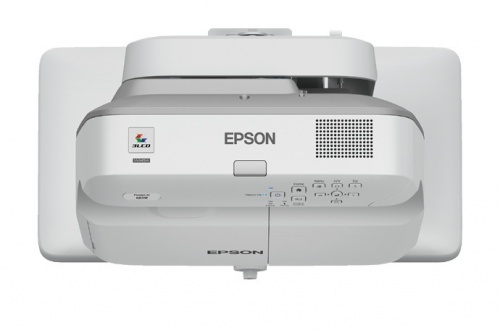 Proyector Interactivo Epson PowerLite Bright Link 685Wi+ 3LCD, WXGA 1280 x 800, 3500 Lúmenes, Tiro Corto, con Bocinas, Blanco