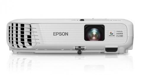 Proyector Epson PowerLite Home Cinema 1040 3LCD, WUXGA 1920 x 1200, 3000 Lúmenes, con Bocinas, Blanco