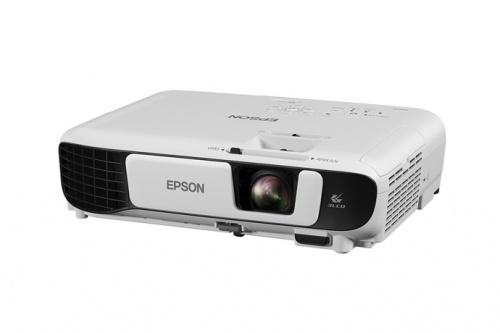 Proyector Portátil Epson PowerLite X41 3LCD, XGA 1024 x 768, 3600 Lúmenes, Alámbrico, con Bocinas, Blanco - incluye Adaptador Inalámbrico