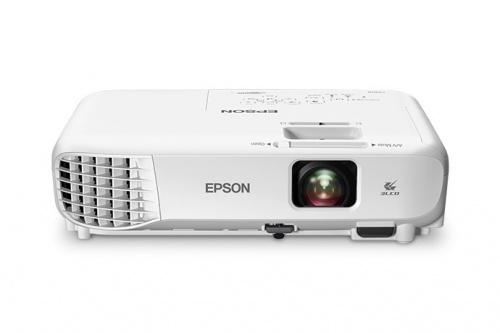 Proyector Portátil Epson 3LCD, WXGA 1280 x 800, 3000 Lúmenes, con Bocinas, Blanco