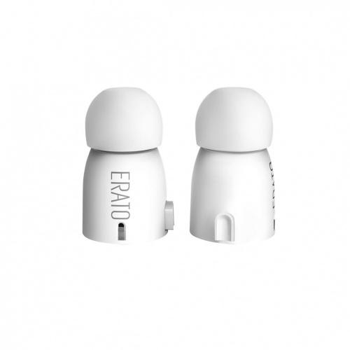 Erato Audífonos Intrauriculares VERSE, Inalámbrico, Bluetooth, Blanco