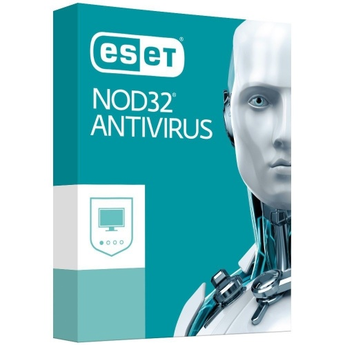 Eset NOD32 Antivirus 2019, 3 Usuarios, 1 Año, para Windows