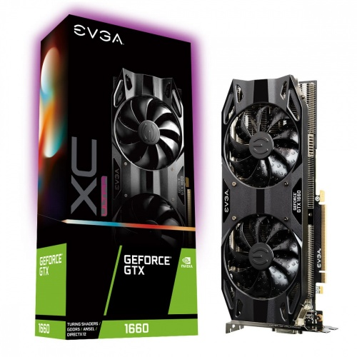 Tarjeta de Video EVGA NVIDIA GeForce GTX 1660 XC ULTRA Gaming, 6GB 192-bit GDDR5, PCI Express 3.0