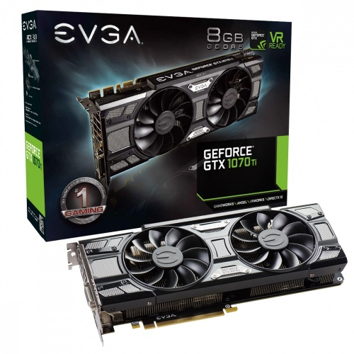 Tarjeta de Video EVGA NVIDIA GeForce GTX 1070 Ti SC GAMING Black Edition, 8GB 256-bit GDDR5, PCI Express 3.0