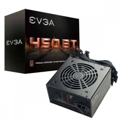 Fuente de Poder EVGA 450 BT 80 PLUS Bronze, 24-pin ATX, 120mm, 450W