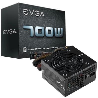 Fuente de Poder EVGA 700W B1 80 PLUS White, 24-pin ATX, 120mm, 700W