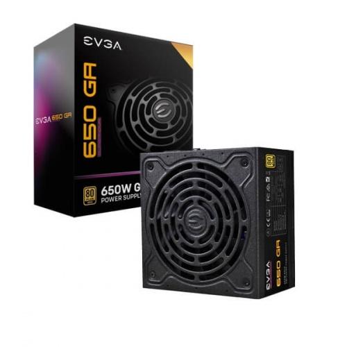 Fuente de Poder EVGA SUPERNOVA 650 GA 80 PLUS Gold, 24-pin ATX, 650W