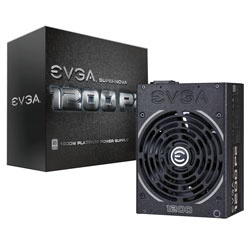 Fuente de Poder EVGA 220-P2-1200-X1 80 PLUS Platinum, 140mm, 1200W