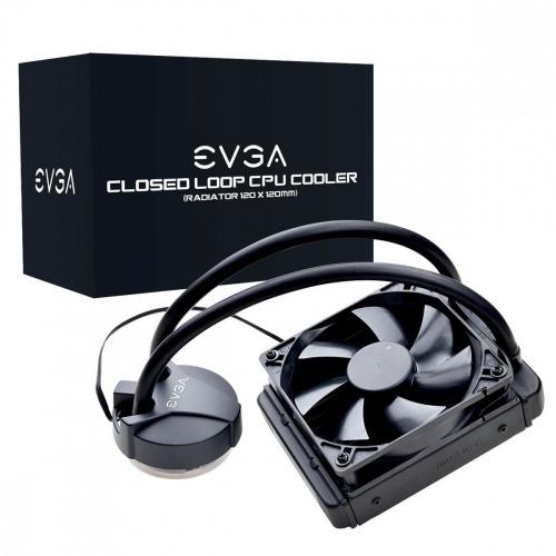 EVGA CLC 120 Enfriamiento Liquido para CPU, 120mm, 1800RPM