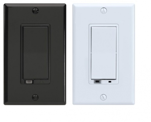 Evolve Dimmer LRM-1000, Z-Wave, Negro/Blanco