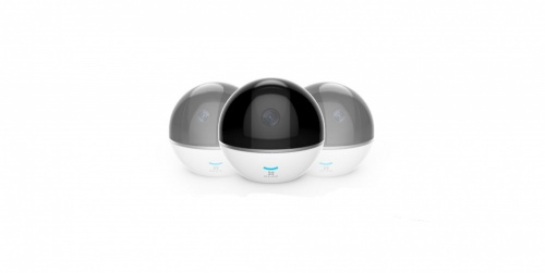Ezviz  Cámara IP Smart WiFi para Interiores C6TC, Inalámbrico, Día/Noche