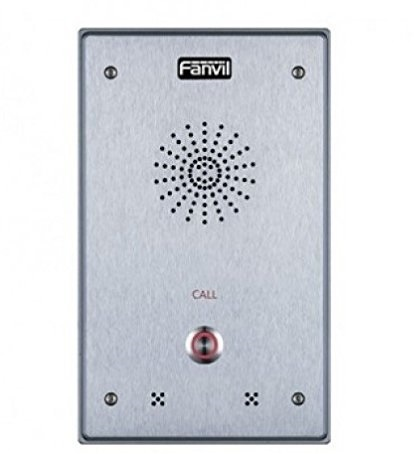 Fanvil Interfon I12-N-01P, Altavoz, Alámbrico, Plata