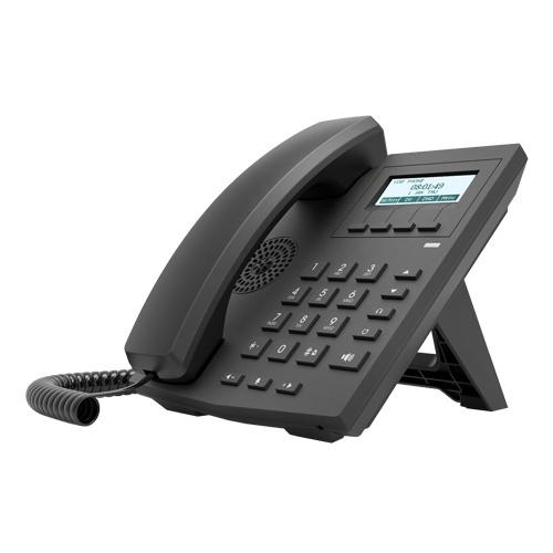 Fanvil Teléfono IP X1P de 2 Líneas, Conferencia de 3 Vías, Negro