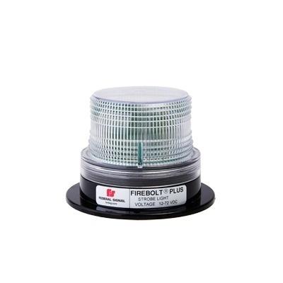 Federal Signal Estrobo Fijo Firebolt Plus, 115V, Transparente