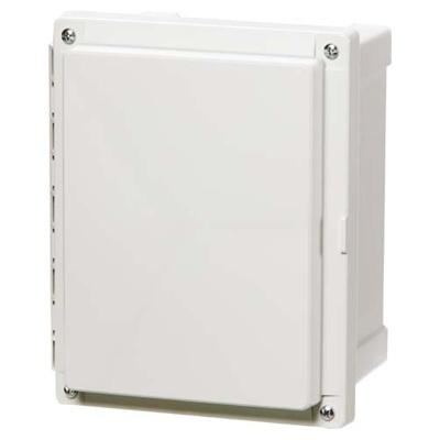 Fibox Gabinete NEMA de Plástico para Exteriores, 45.7 x 25.4cm, Blanco