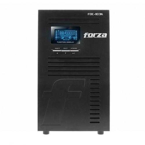 No Break Forza Power Technologies FDC-103K Doble Conversión en Línea, 3000W, 3000VA, Entrada 62V - 150V, Salida 100V - 127V, 9 Contactos