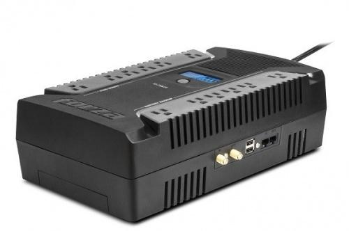 No Break Forza Power Technologies HT-750LCD, 375W, 750VA, Entrada 81-145V, Salida 108-122V, 12 Contactos