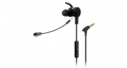 Game Factor Audífonos Intrauriculares con Micrófono EPG500, Alámbrico, 1.2 Metros, 3.5mm, Negro
