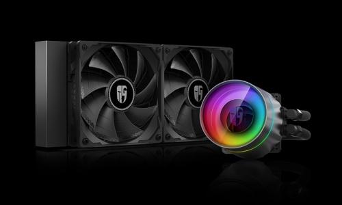 Gamer Storm Castle 240EX Enfriamiento Liquido para CPU, 2x 120mm, 500 - 1800RPM