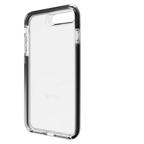 Gear4 Funda de Policarbonato para Iphone 7 Plus, Negro/Transparente
