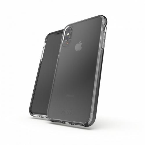 """Gear4 Funda para iPhone X Plus 6.5"""", Negro"""