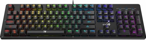Teclado Gamer Genius Scorpion K10 RGB, Sensación Mecánica, Alámbrico, Negro (Inglés)