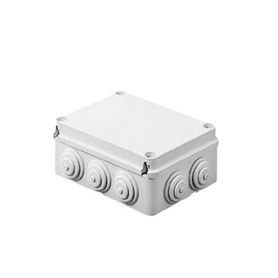 Gewiss Caja de Conexiones de 10 Entradas, Blanco