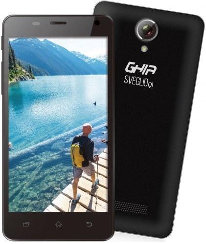 Smartphone Ghia Sveglio Q1 5'', 480 x 854 Pixeles, WiFi + 3G, Bluetooth 2.1, Android 6.0, Negro