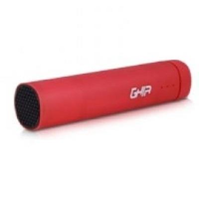 Cargador Portátil Ghia Power Bank Volta GAC-033, 2200mAh, Rojo